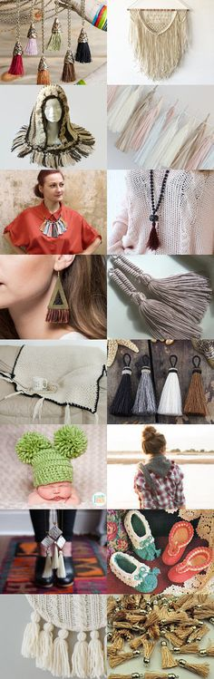 Intrigued by Tassles by Corinne on Etsy--Pinned+with+TreasuryPin.com