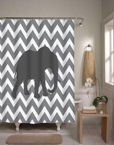 Magical Thinking Elephant Shower Curtain   Elephant shower ...