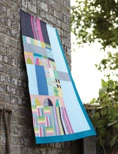 Modern quilt by Lucie Summers, from her fabulous book Quilt Improv.