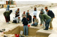 Archaeological community outreach program for Navy personnel and their family members. San Nicolas Island, California. DSMc.1997