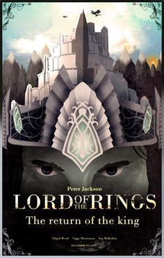 LoTR fan art, por Nicolás Alejandro Barbera. / The Return of the King