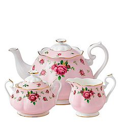 "Royal Albert ""New Country Roses Pink"" Modern Casual Dinnerware 