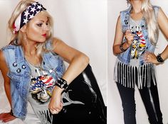 You can't stop Rock 'N' Roll (by Missi R.) http://lookbook.nu/look/2298533-You-can-t-stop-Rock-N-Roll