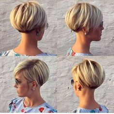 60 Chic Short Bob & Haircuts for Women, 60 Chic Short Bob Hairstyles & Haircuts for Women Girls Short Haircuts, Short Hairstyles For Women, Hairstyles Haircuts, Cool Hairstyles, Hairstyle Ideas, Pixie Haircuts, Hair Ideas, Hairstyle Short, Asymmetrical Hairstyles