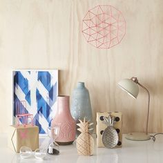 Freedom NZ pastel and blond wood collection