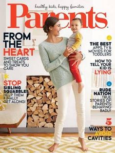 FREE $$ One Year Subscription to Parents Magazine!