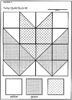 Geometry through quilting - use cut up squares of construction paper to have each child make a tulip block, and then put the blocks together to make a class quilt.