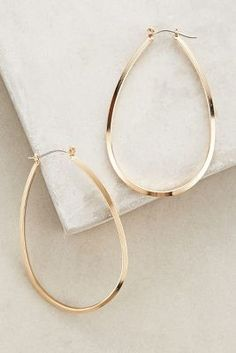 Anthropologie Indio Hoops #anthrofave