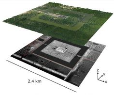 Lidar mapping of the area surrounding the Angkor Wat temple complex in northwestern Cambodia shows that beneath thick forest cover an ancient city-block-style grid extends beyond the site's moat. Laser Vision, Khmer Empire, University Of Sydney, Archaeology News, Remote Sensing, Lost City, Angkor Wat, Southeast Asia, Cities