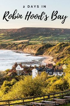 2 days in Robin Hood's Bay in Yorkshire, England, from the beautiful fishing village to the Yorkshire coast and highlights of the surrounding area.  #robinhoodsbay #yorkshire #northyorkshiremoors #england #uk