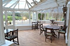 Our lovely conservatory