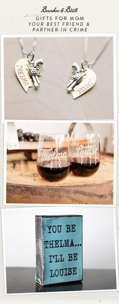 We know that your mom is your best friend and partner in crime. Shop the Thelma & Louise collection at Bourbon & Boots
