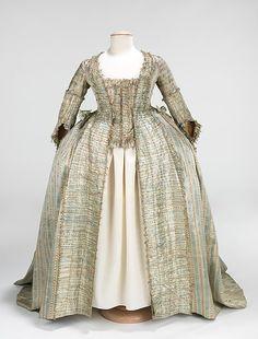 Robe à la Françaiseca.1780 | French | The Met