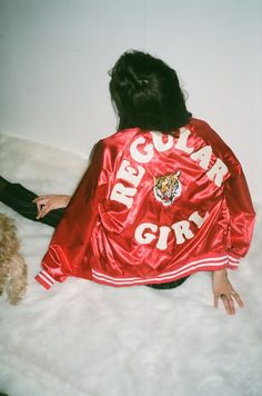 """Stylecaster's spring fashion guide is A-1. Neeeed this """"Regular Girl"""" stadium jacket!"""