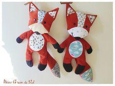Two Little Foxes! - Miss Grain de Sel