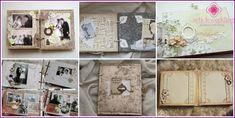 Wedding Scrapbook Album - stilar och designidéer, en master class med bilder