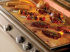 Infrared Grill – pros and cons, useful tips for choosing a home barbecue - Decoration 4 Hamburgers, Healthy Grilling, Grilling Recipes, Barbacoa, Infrared Grills, Chicken Wings, Carne, Helpful Hints, Bbq