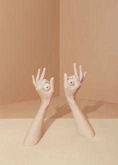 OK / photography by agnes lloyd-platt, nail varnish: ithaque by NARS