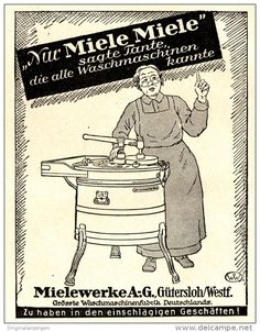 17 Best Miele Images Print Ads Vintage Ads Laundry Design
