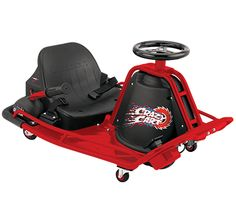 Coolest toy for kids--Razor Crazy Cart - Drift and drive, go kart style electric ride on! #ChiTagFair