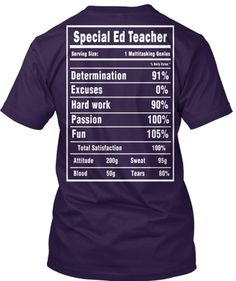 Special Ed Teacher T-Shirts and Hoodies | Teespring