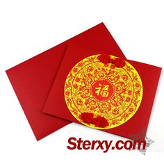This orginal designed #greeeting card is inspired by the traditional Chinese paper-cut art. The cover of the card features a large character 'Fu'(Hapiness).The card is in Chinese red which willl be the most suitable gift for your friedns! Now, write down your #Chinesenewyear wishes! #happiness #red #fu