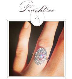 Peachtree // Old Mine Cut Diamond
