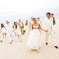 Wedding Style               Beach Weddings     Planning a seaside affair? Find tropical inspiration in our gallery and get ideas from other beachy brides on our message board.     Our Favorite Beach Wedding Ideas