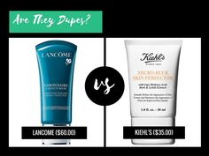Is  Kiehl's Micro-Blur Skin Perfector a dupe for Lancome Visionnaire 1 Minute Blur Smoothing Skincare Instant Perfector?