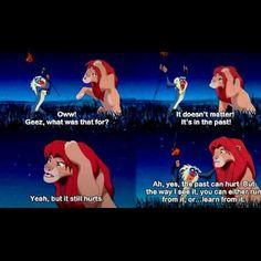 The Lion King! Lion King Quotes, Rafiki Quotes, Movies Quotes, Tv Quotes, Random Quotes, Quotable Quotes, Pixar Quotes, Quirky Quotes, Funny Quotes
