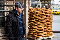 Simit seller in the streets of Istanbul by marcusfornell  IFTTT 500px