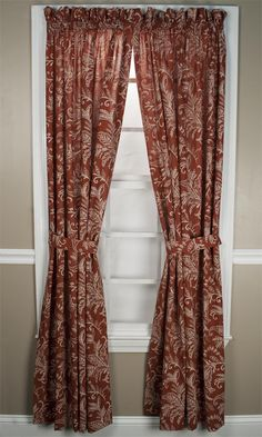 Floating Leaves Curtain Panel