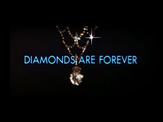 The Five Best Marketing Campaigns Of All Time - 'Diamonds Are Forever' Letter Bead Bracelets, Letter Beads, Beaded Bracelets, Best Marketing Campaigns, Forever Quotes, Opening Credits, Jewelry Quotes, Diamond Are A Girls Best Friend, James Bond