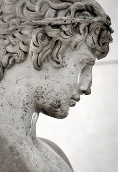 Detail of Michelangelo's David