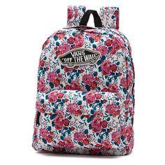 Leila Realm Backpack ($38) ❤ liked on Polyvore featuring bags, backpacks, hana floral, vans bag, floral backpack, floral print backpack, rucksack bag and floral bags