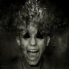 Creepy Photo Manipulations by Blekotakra