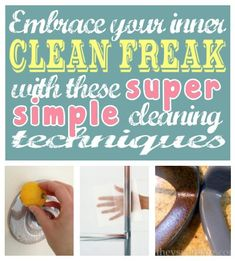 Super Simple Cleaning Techniques