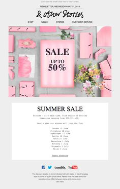 & Other Stories  Newsletter | Sale