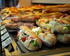 Paris: THE STREET SANDWICH.  The best food in Paris!