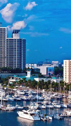 Sailing away on a Miami Marina dream!