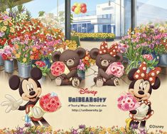 Tokyo Disney Unibearsity | These bears are only sold at Tokyo Disneyland-  画像をクリックするとフルサイズがごらんに ... Click to enlarge