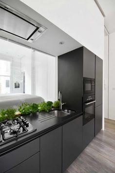 kis lakás berendezése - konyha