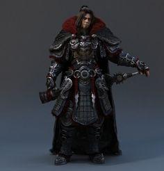 ArtStation - Ancient warrior, 欢 咕咕