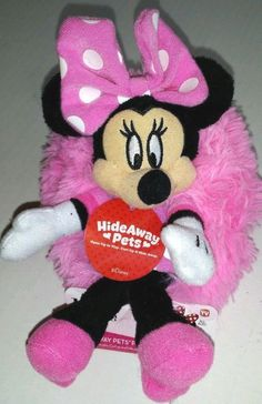 Minnie Mouse Hideaway Friend Pillow Pets Mini Plush NWT stocking stuffer in Toys & Hobbies, TV, Movie & Character Toys, Disney | eBay