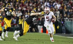 Rose Bowl Champion Stanford Won't Wonder What If About National Title = PASADENA, Calif. – Sixth-ranked Stanford's 45-16 rout of No. 5 Iowa in Friday's Rose Bowl Game wasn't about sending a message, Cardinal head coach David Shaw said afterward.....