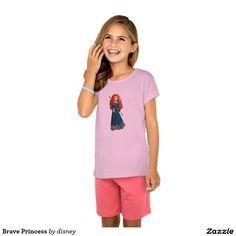 Brave Princess T-shirt #camisetas #tshirt