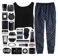 """""""Goodnight xx"""" by luciamenesess ❤ liked on Polyvore featuring J.Crew, Wet n Wild, Korres, philosophy, Topshop, Bardot, Sephora Collection, Grown Alchemist, Cartier and Tai"""