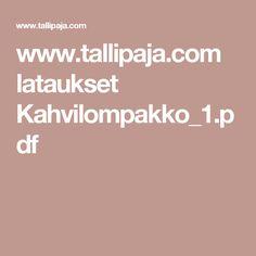 www.tallipaja.com lataukset Kahvilompakko_1.pdf