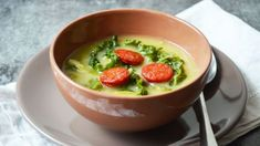 Kapustová polévka Caldo verde Foto: