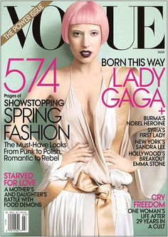 Lady Gaga's Cover - Vogue